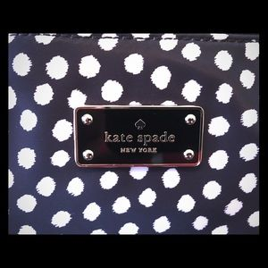 Kate Spade Polka Dot Laptop Bag & matching zip up